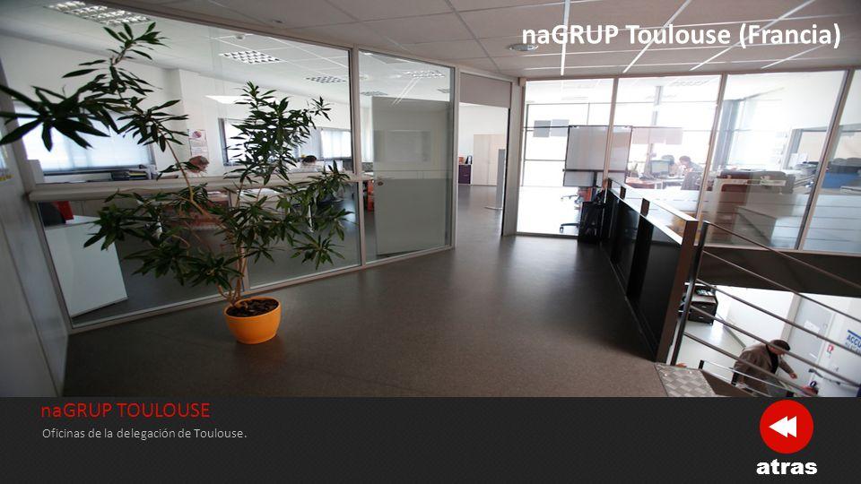 naGRUP TOULOUSE Toulouse alberga el mayor número de metros cuadrados para el stock de mercancías.
