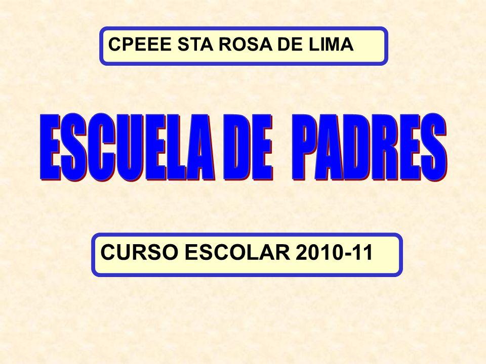 CPEEE STA ROSA DE LIMA CURSO ESCOLAR 2010-11