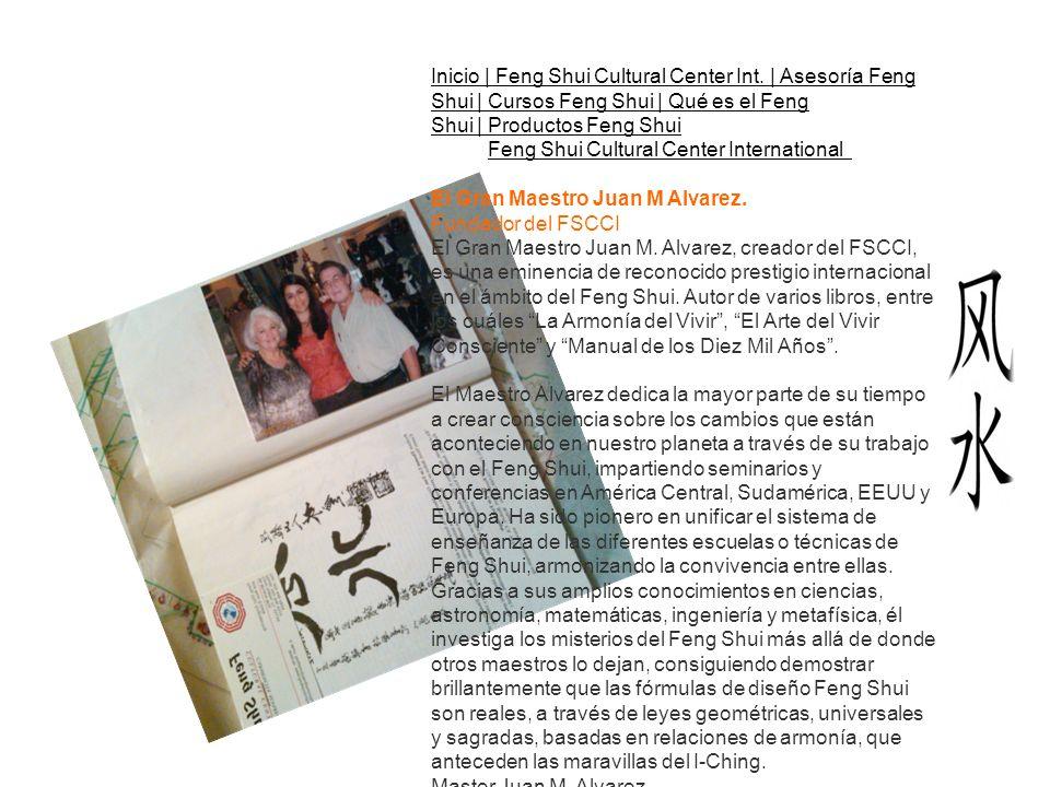 Inicio | Feng Shui Cultural Center Int.