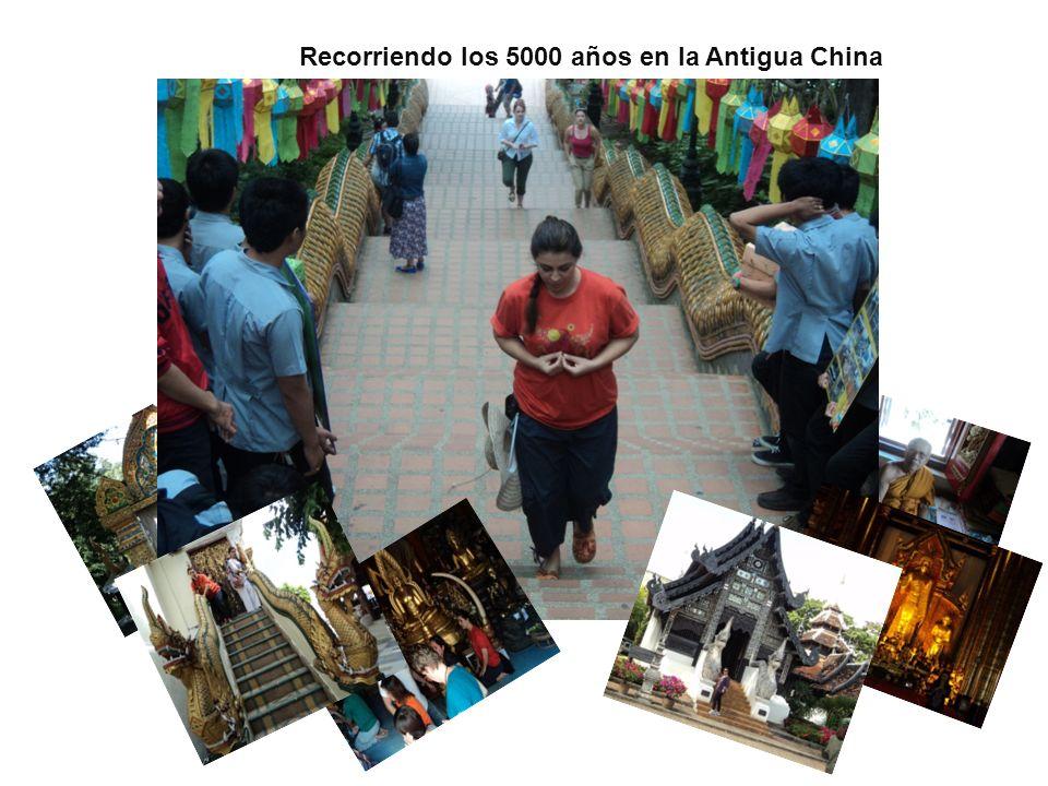 Recorriendo los 5000 años en la Antigua China