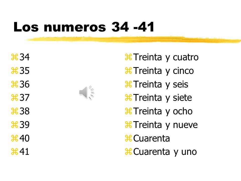 Los numeros 26 -33 z26 z27 z28 z29 z30 z31 z32 z33 z Veintiseis z Veintisiete z Veintiocho z Veintinueve z Treinta z Treinta y uno z Treinta y dos z Treinta y tres
