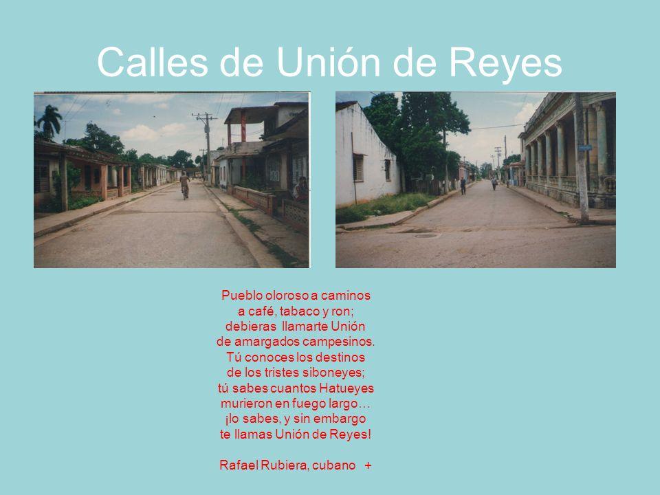 Acueducto y patio ferroviario de Unión de Reyes, foto de 1997 Tienes que ser muy preciso de ese sitio en donde estás pues no se sabe si irás para Unión o el paraíso.