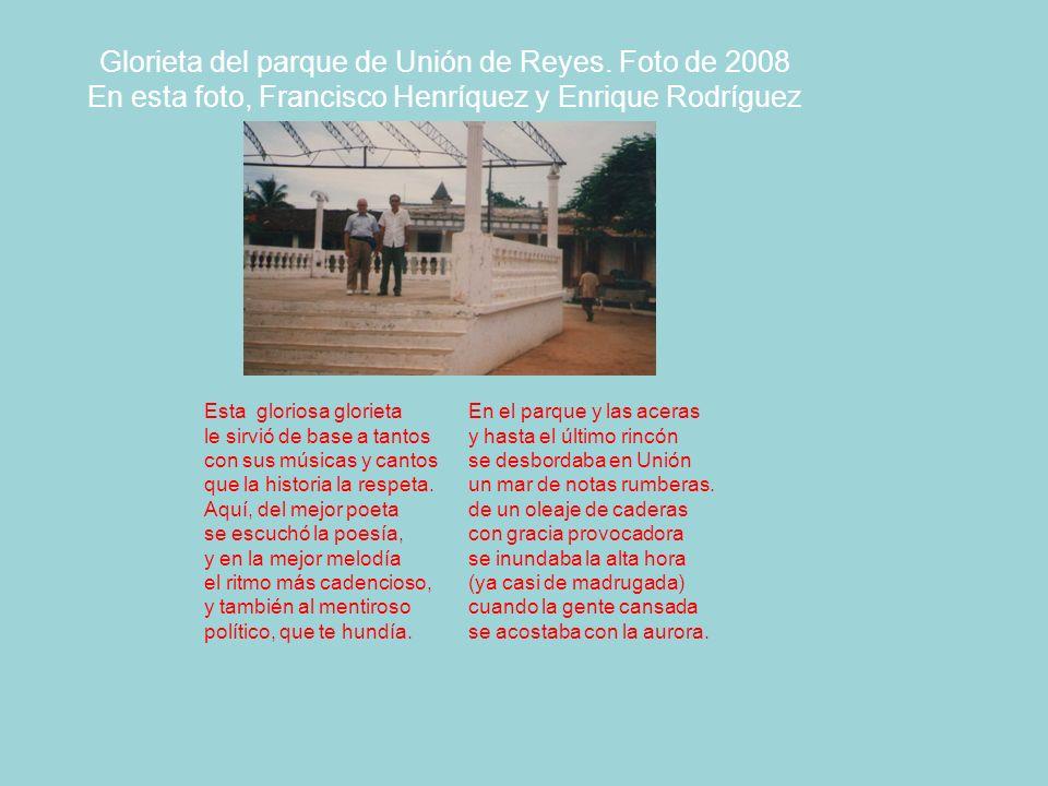 Glorieta del parque de Unión de Reyes.