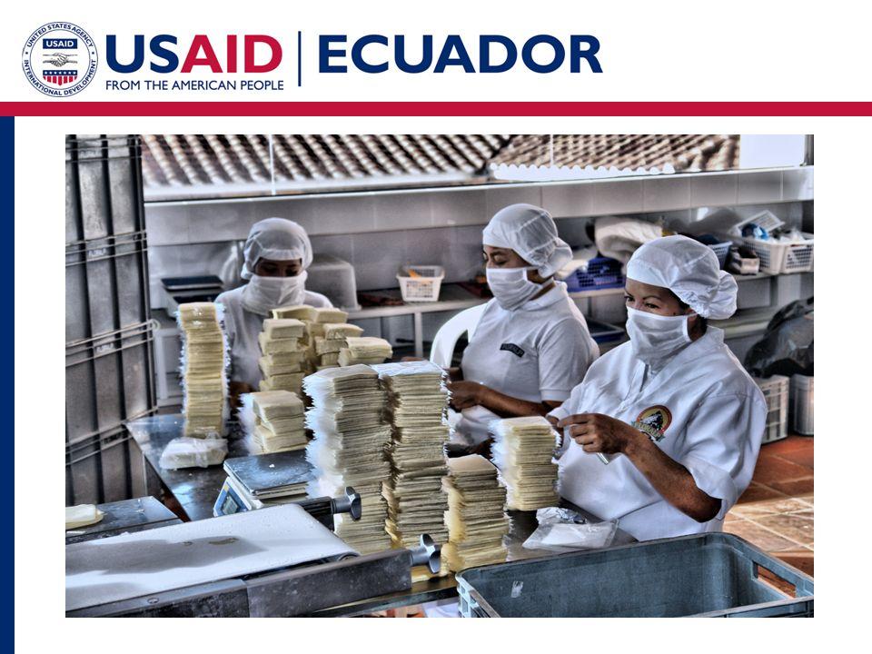 2.Con quienes trabajar Para USAID nuestra principal contraparte es el Gobierno del Ecuador.
