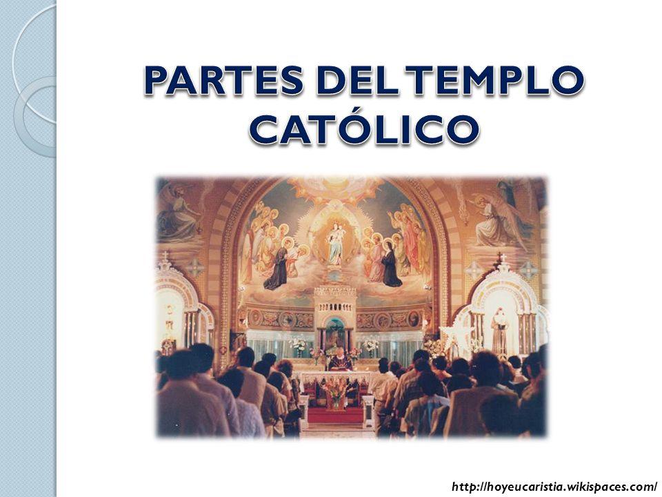 La misa tiene una estructura semejante a la de un templo http://hoyeucaristia.wikispaces.com/ Partes del la misa Partes del templo Atrio Rito de entrada Nave Liturgia de la Palabra Liturgia de la Eucaristía Presbiterio Rito de Salida