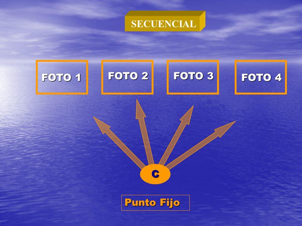 C FOTO 1 FOTO 2 FOTO 3 FOTO 4 Punto Fijo SECUENCIAL