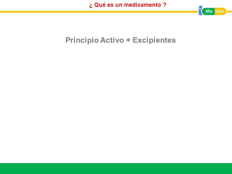Titular ¿ Qué es el Principio Activo.