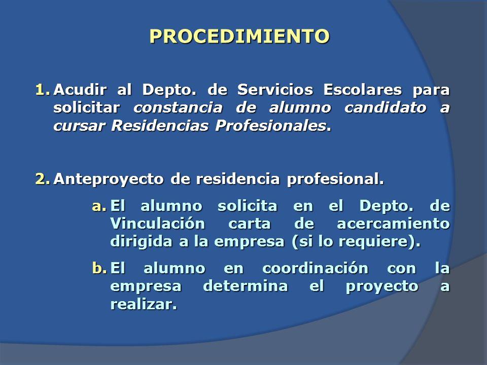 Si una vez concluida la residencia profesional no se ha entregado el informe técnico a los asesores.
