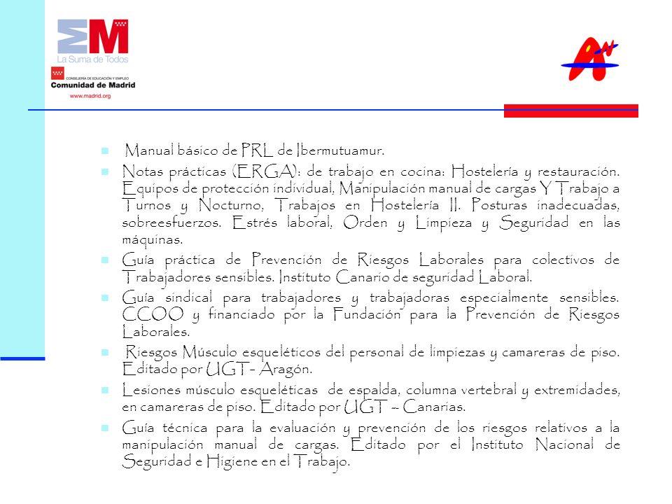 Manual básico de PRL de Ibermutuamur.
