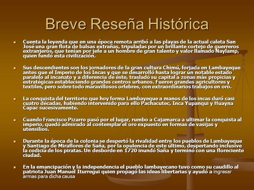 Breve Reseña Histórica Cuenta la leyenda que en una época remota arribó a las playas de la actual caleta San José una gran flota de balsas extrañas, t