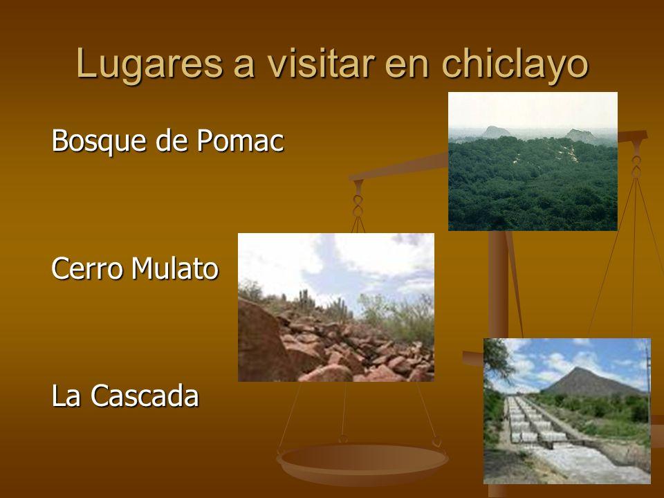 Bosque de Pomac Cerro Mulato La Cascada