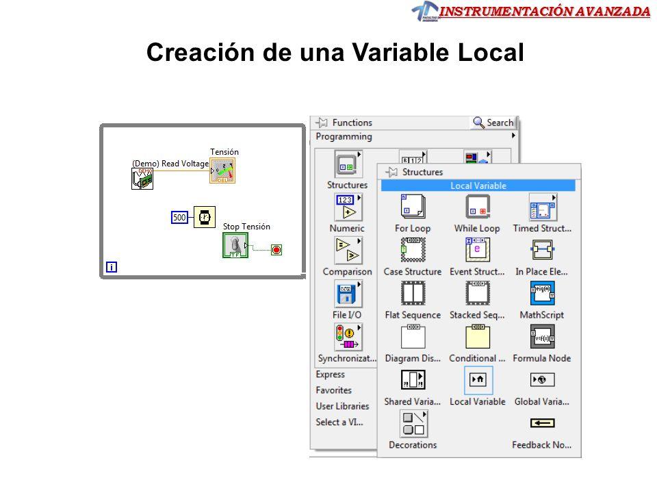 INSTRUMENTACIÓN AVANZADA Ejercicio 2.08 Ejercicio 2.08 Ejercicio 2.08 Simular un proceso en donde una variable analógica (simulada en la placa USB) sube gradualmente hasta alcanzar el valor 100.
