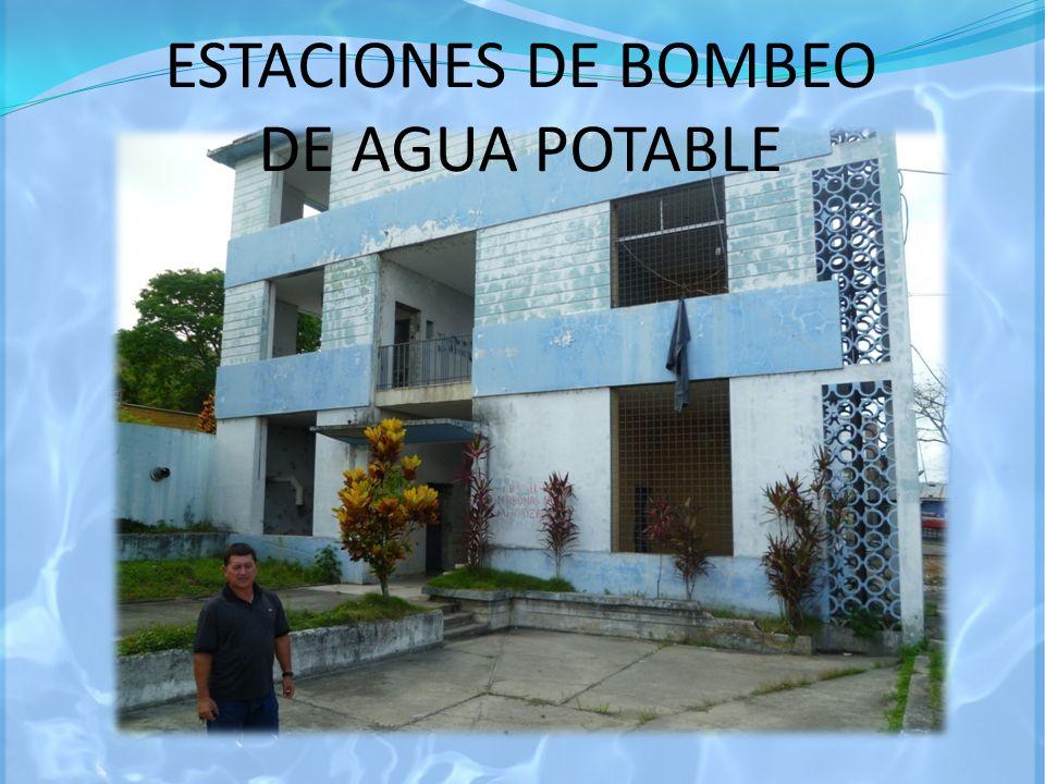 ESTACIONES DE BOMBEO DE AGUA POTABLE