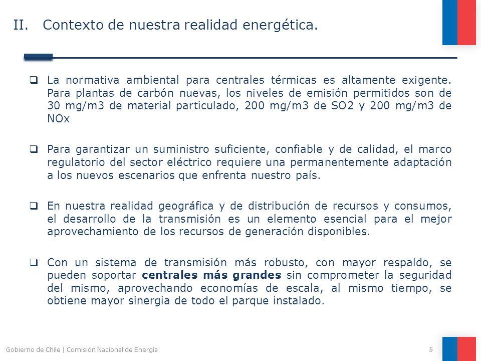 6 CONSUMO ELÉCTRICO PROYECTADO EN EL SING 2011 - 2021 : 26.365 GWh 14.620 GWh II.