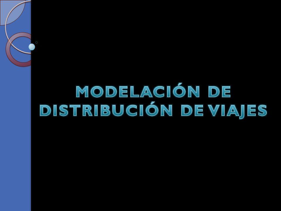 Existen diversos modelos para expresar la distribución de viajes entre zonas, los cuales se diferencian por su naturaleza, y según que el cálculo del número de viajes se realice dentro de un proceso único o bien en varias etapas.