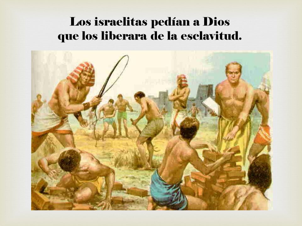 Y Dios eligió a Moisés para sacarlos de Egipto y conducirlos de nuevo a Canaán.