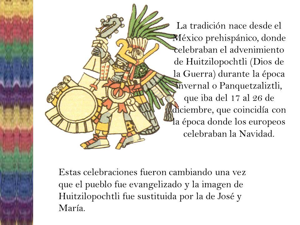 Las posadas son fiestas populares que en México se celebran durante los nueve días antes de Navidad, o sea del 16 al 24 de Diciembre.
