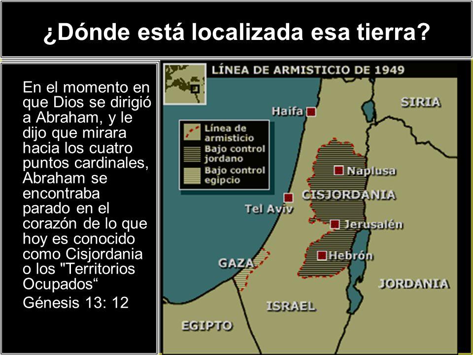 ¿Qué es Cisjordania.Cisjordania es territorio Israelí.