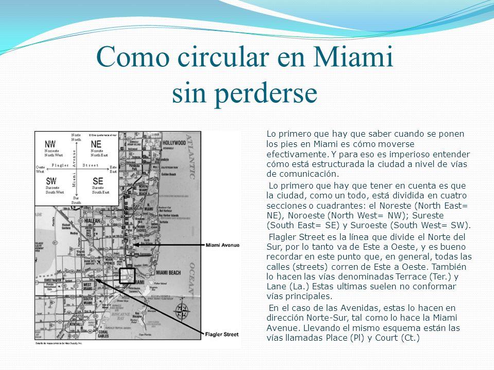 Vivir en Miami Instalarse en una nueva ciudad genera una serie de importantes dudas. Es necesario conocer que ofrece el lugar elegido en términos de v