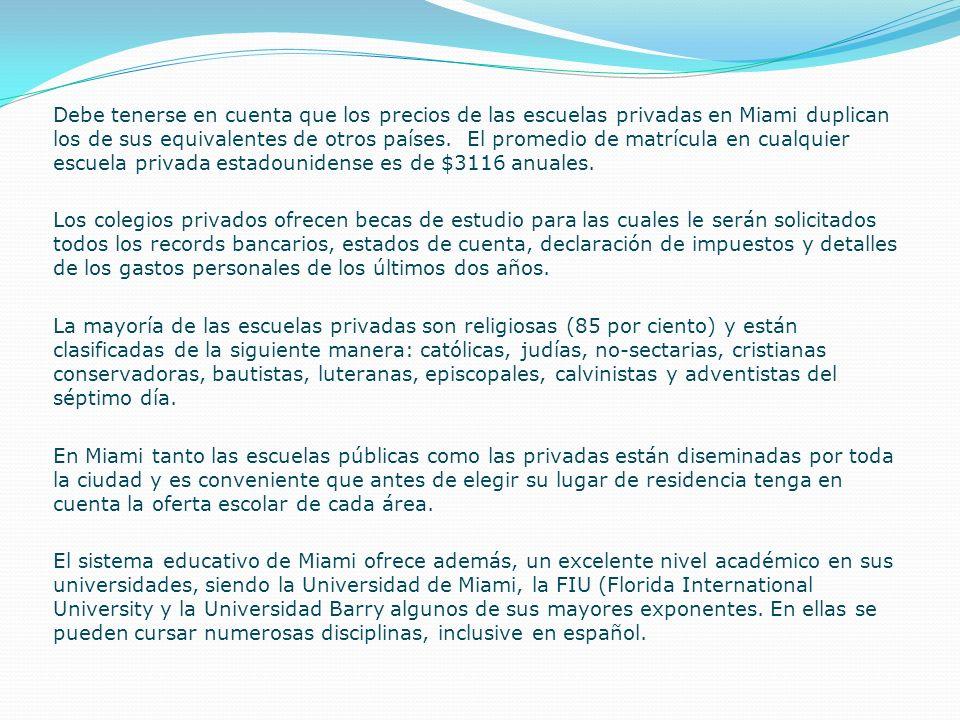 Educación El sistema educativo de Estados Unidos ofrece educación pública y privada, y funciona de la siguiente manera: desde kindergarten hasta sexto