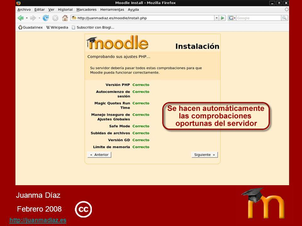 Juanma Díaz Febrero 2008 http://juanmadiaz.es