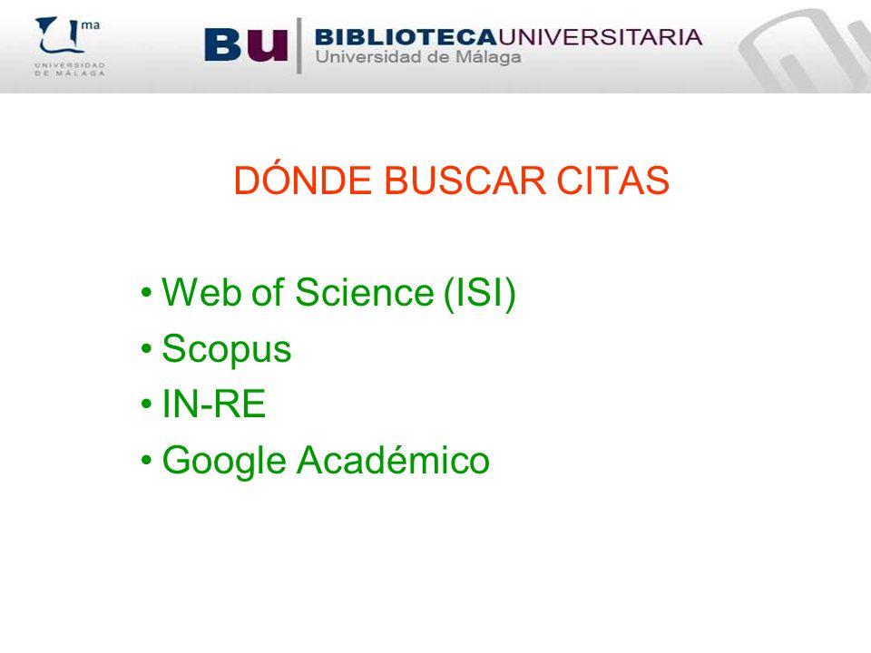 Sistema de información que integra indicadores de calidad para las revistas científicas españolas de Ciencias Sociales y Humanidades.
