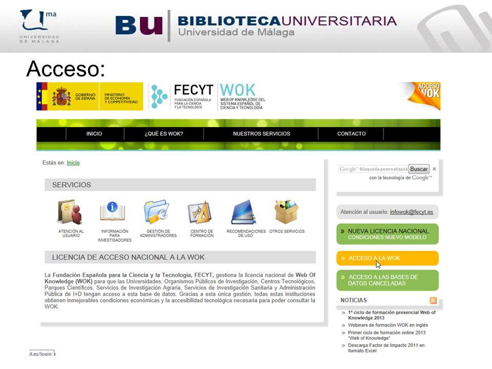 Scopus, base de datos multidisciplinar, se presenta como la competencia de Web of Science.