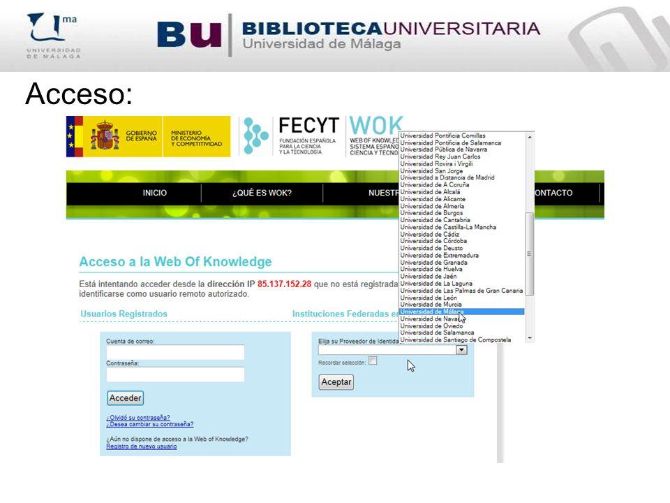 Citado por (Cited by) Al buscar en Scopus un documento en concreto en la parte derecha de la pantalla aparece una columna con las citas recibidas a ese documento.