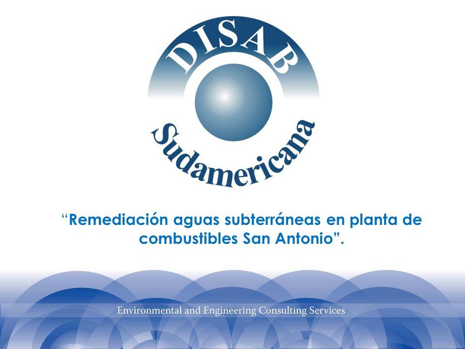 Remediación aguas subterráneas en planta de combustibles San Antonio.