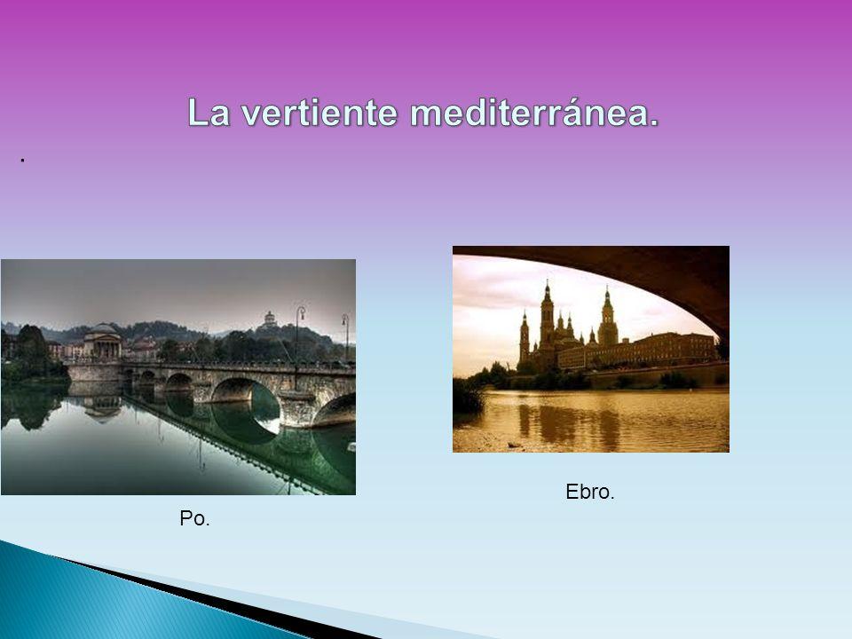 Po. Ebro.