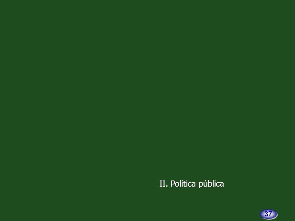 II. Política pública 37