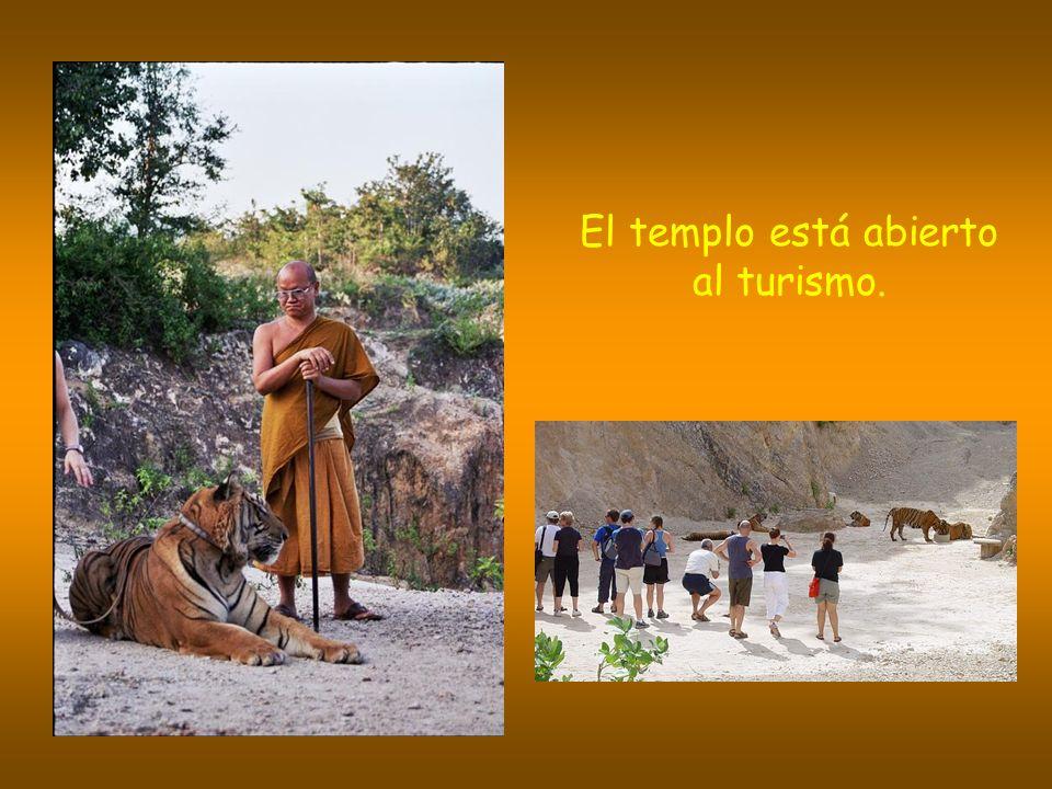 El templo está abierto al turismo.