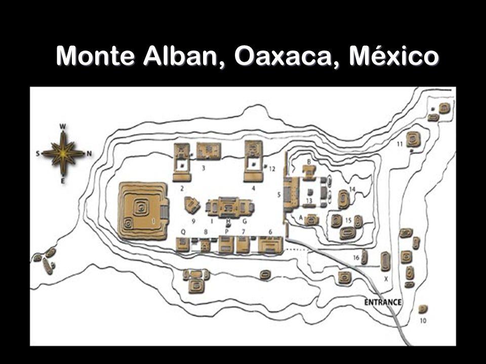 Monte Alban, Oaxaca, México