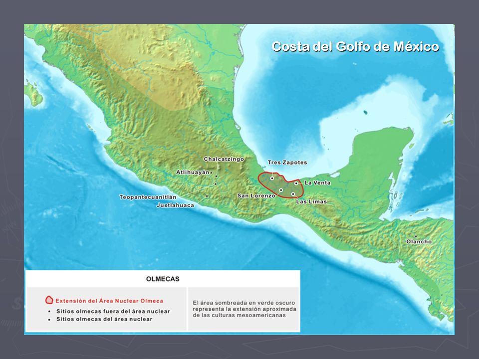 Una de las regiones donde se han encontrado las evidencias más claras de la presencia de esta cultura es la parte sur de la llanura Costera del Golfo de México, comprendida entre los ríos Papaloapan y Grijalva, que corresponde a la mitad norte del Istmo de Tehuantepec.