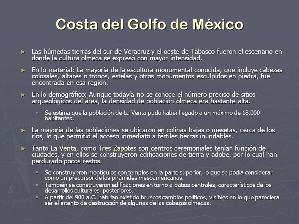 Las húmedas tierras del sur de Veracruz y el oeste de Tabasco fueron el escenario en donde la cultura olmeca se expresó con mayor intensidad. Las húme