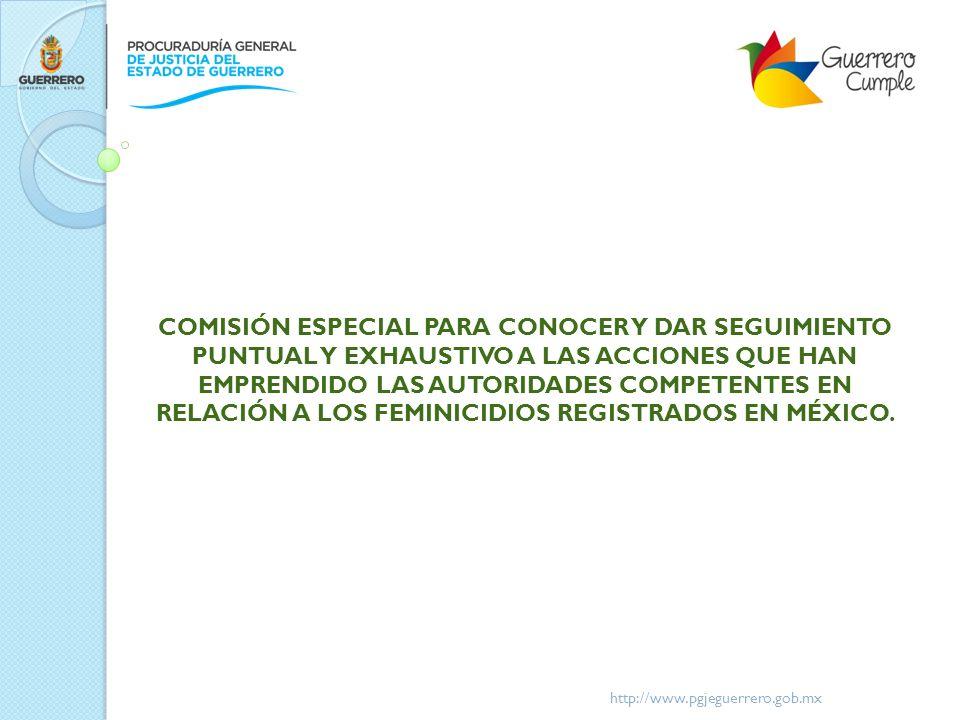 http://www.pgjeguerrero.gob.mx ¿CRITERIOS PARA INICIAR LOS REGISTROS ADMINISTRATIVOS O AP, ANTE EL REPORTE O DENUNCIA DE UNA DESAPARICIÓN DE UNA NIÑA O UNA MUJER.