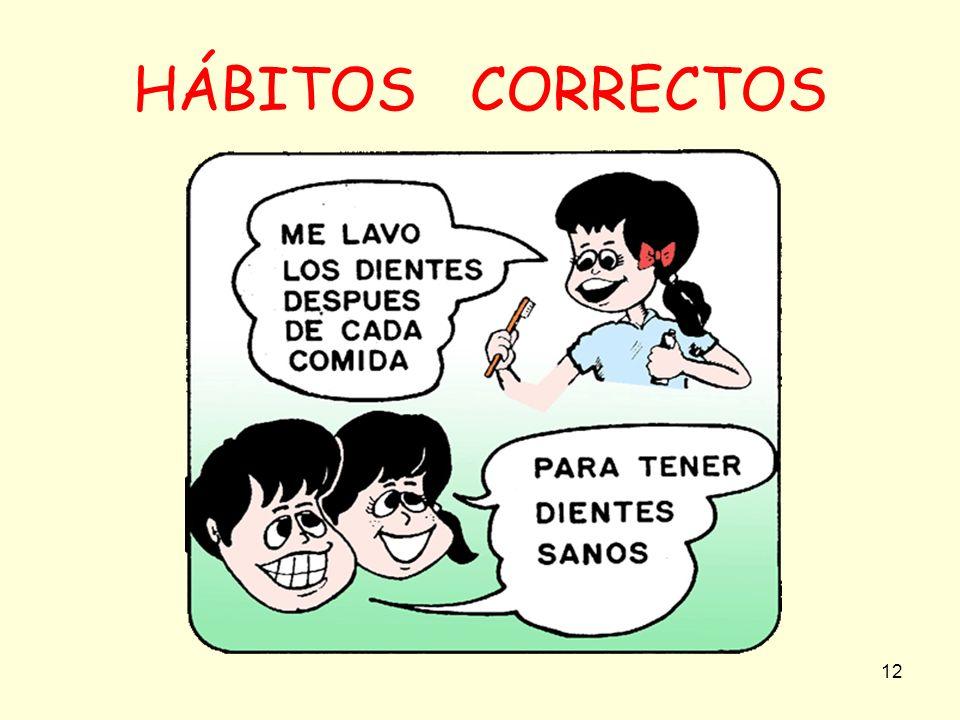 12 HÁBITOS CORRECTOS