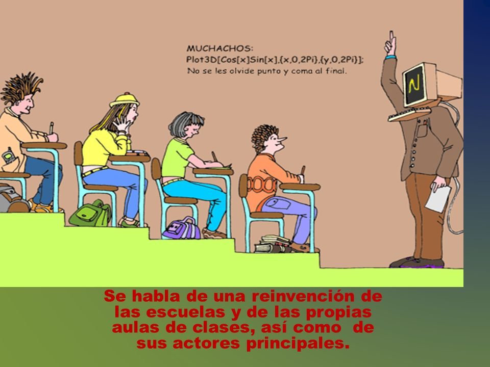 EL IMPACTO TECNOLÓGICO SOBRE LA EDUCACIÓN Hacia la segunda parte de la década de los años noventa, con la generalización de los documentos basados en