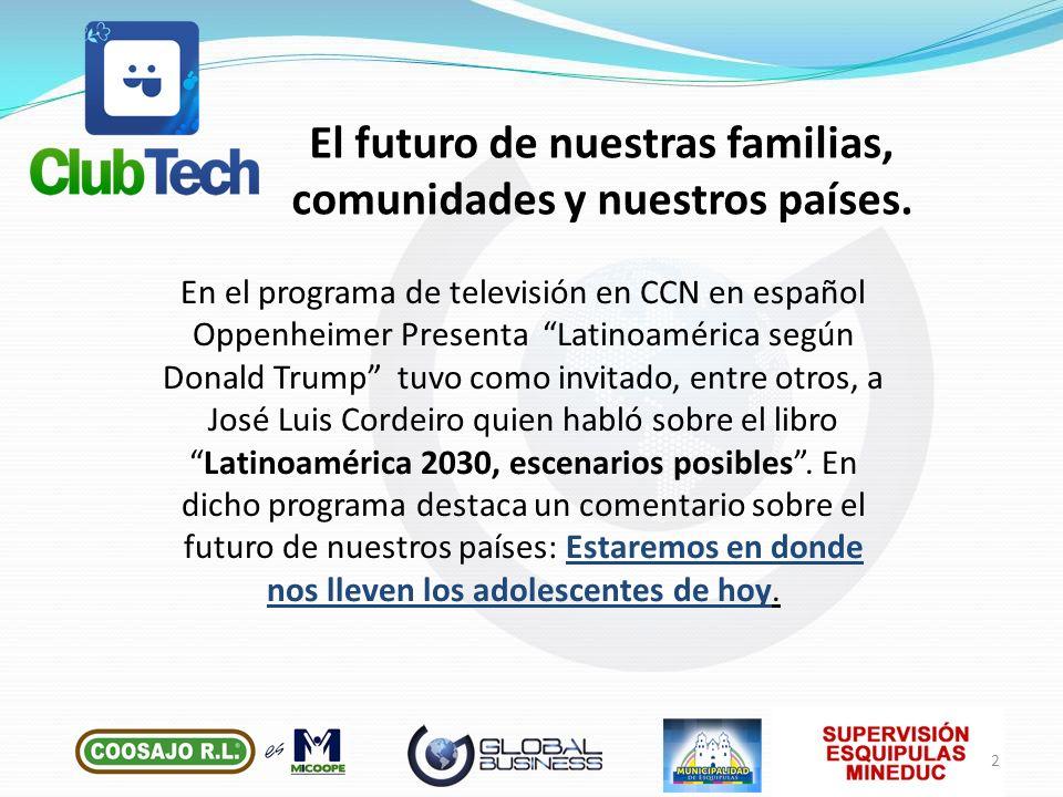 En el programa de televisión en CCN en español Oppenheimer Presenta Latinoamérica según Donald Trump tuvo como invitado, entre otros, a José Luis Cord