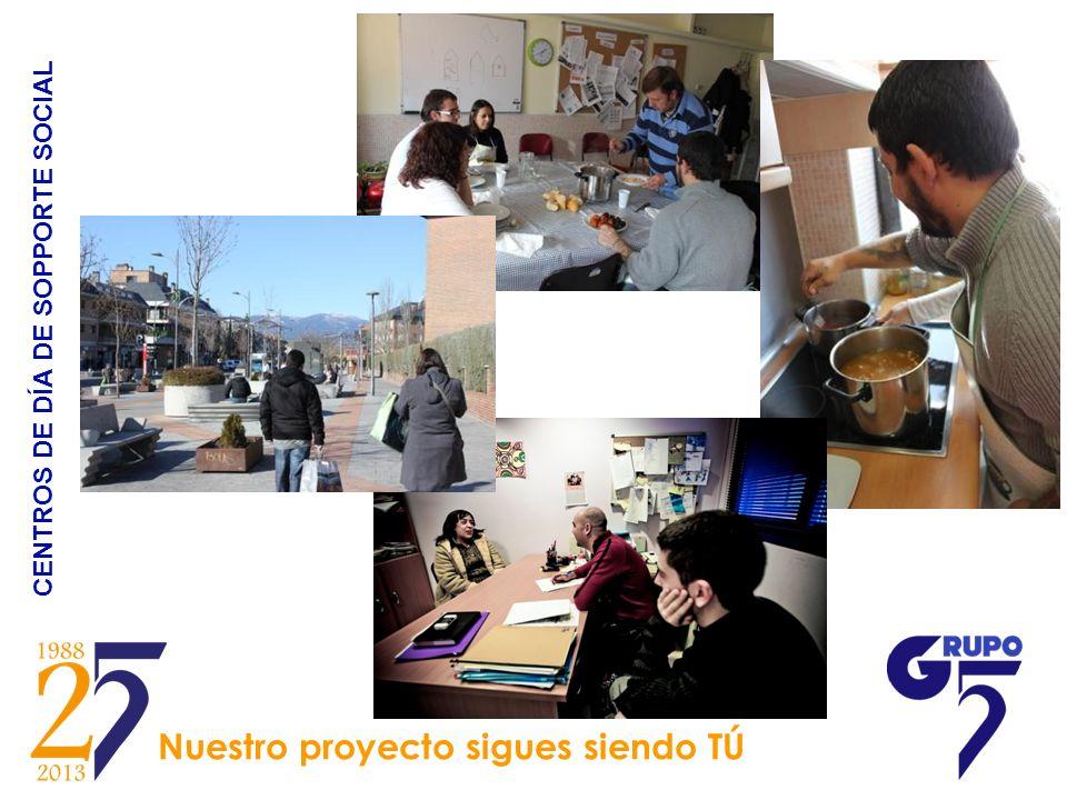 CENTROS DE DÍA DE SOPPORTE SOCIAL Nuestro proyecto sigues siendo TÚ