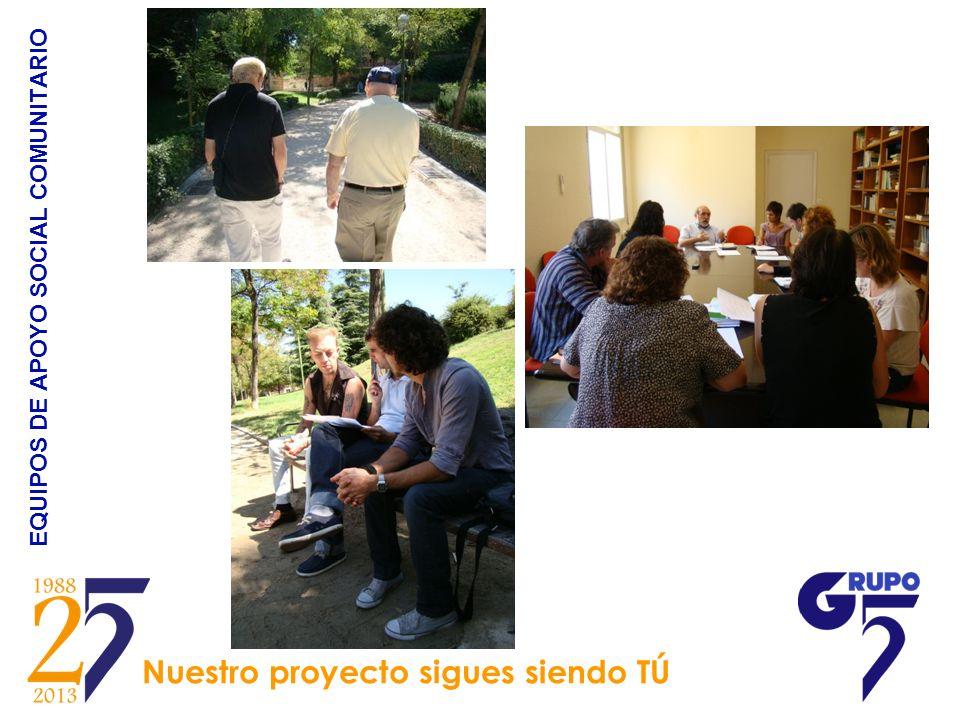 EQUIPOS DE APOYO SOCIAL COMUNITARIO Nuestro proyecto sigues siendo TÚ