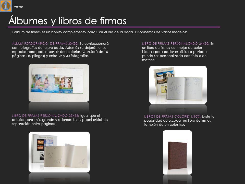 LIBRO DE FIRMAS PERSONALIZADO 33X33: Igual que el anterior pero más grande y además tiene papel cristal de separación entre páginas.