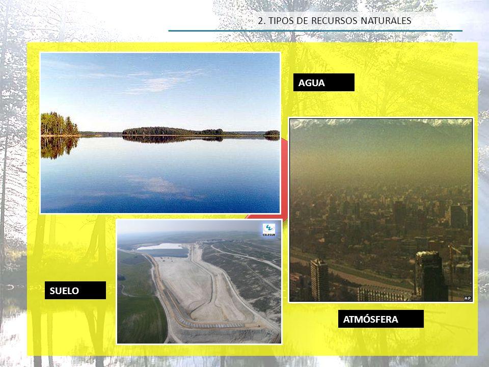 Inagotables Agua potable Carb ó n Petr ó leo Gas natural