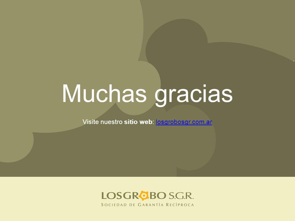 Muchas gracias Visite nuestro sitio web: losgrobosgr.com.arlosgrobosgr.com.ar