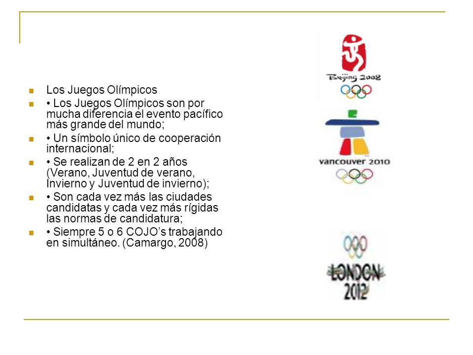 Los Juegos Olímpicos Los Juegos Olímpicos son por mucha diferencia el evento pacífico más grande del mundo; Un símbolo único de cooperación internacio