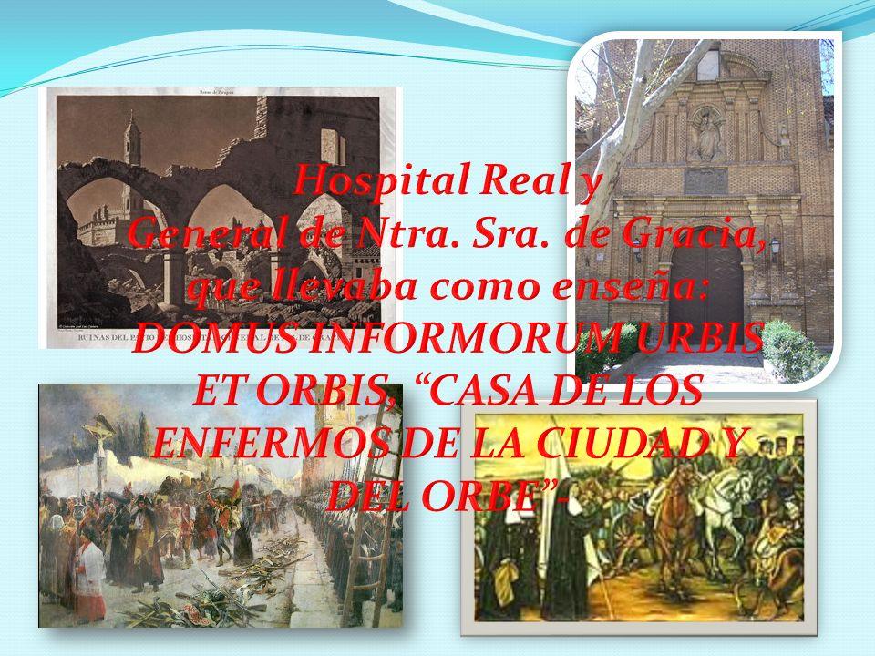 La CARIDAD no conoce fronteras y el Hospital Domus Infirmorun URBIS et ORBIS de Nuestra Señora de Gracia, donde la Congregación nace, tampoco.