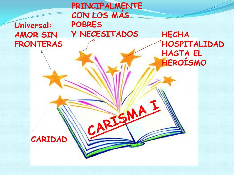 Estas son las síntesis que ponemos en las manos de cada Hermana de la Congregación, el trabajo realizado por las Comunidades de la Provincia de Santa Ana, sobre el libro Carisma I de la Hna.