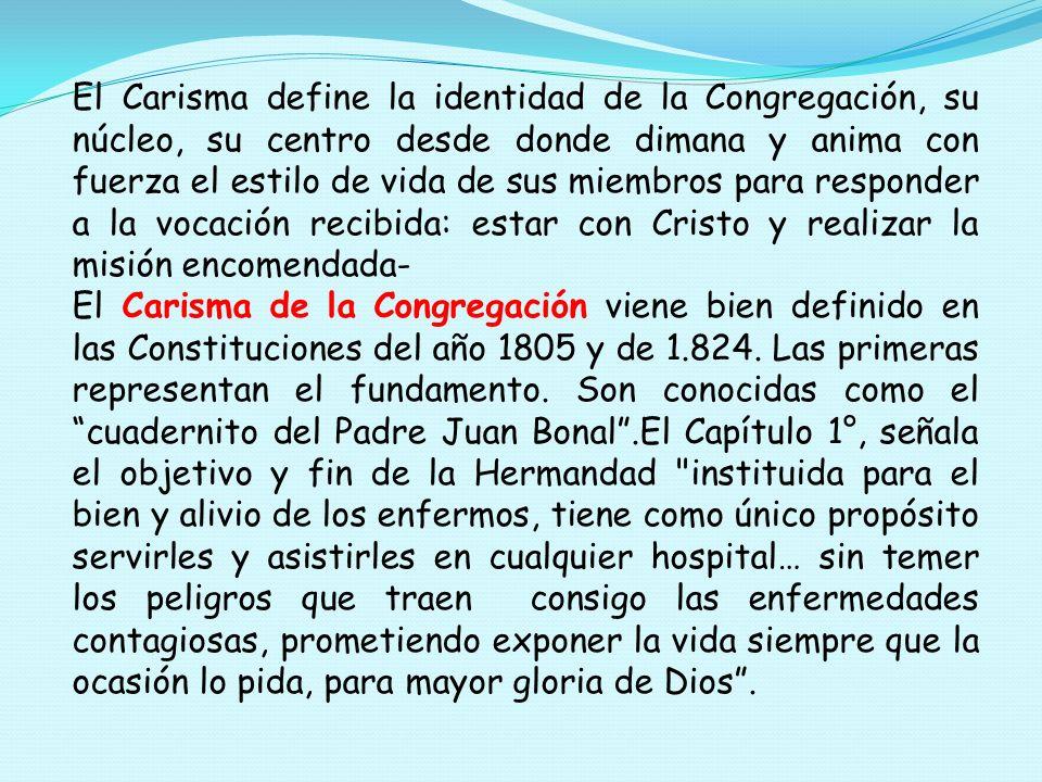 CARISMA Es un término CARISMA se empieza a.usar en la Vida Religiosa después del Vaticano II.
