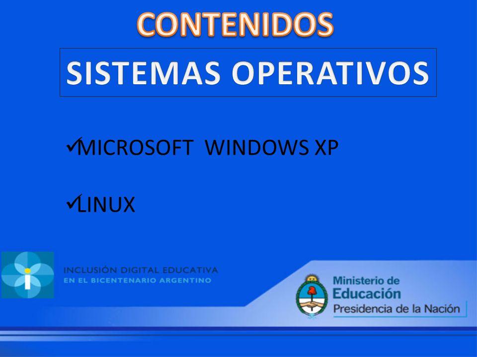 MICROSOFT WINDOWS XP LINUX