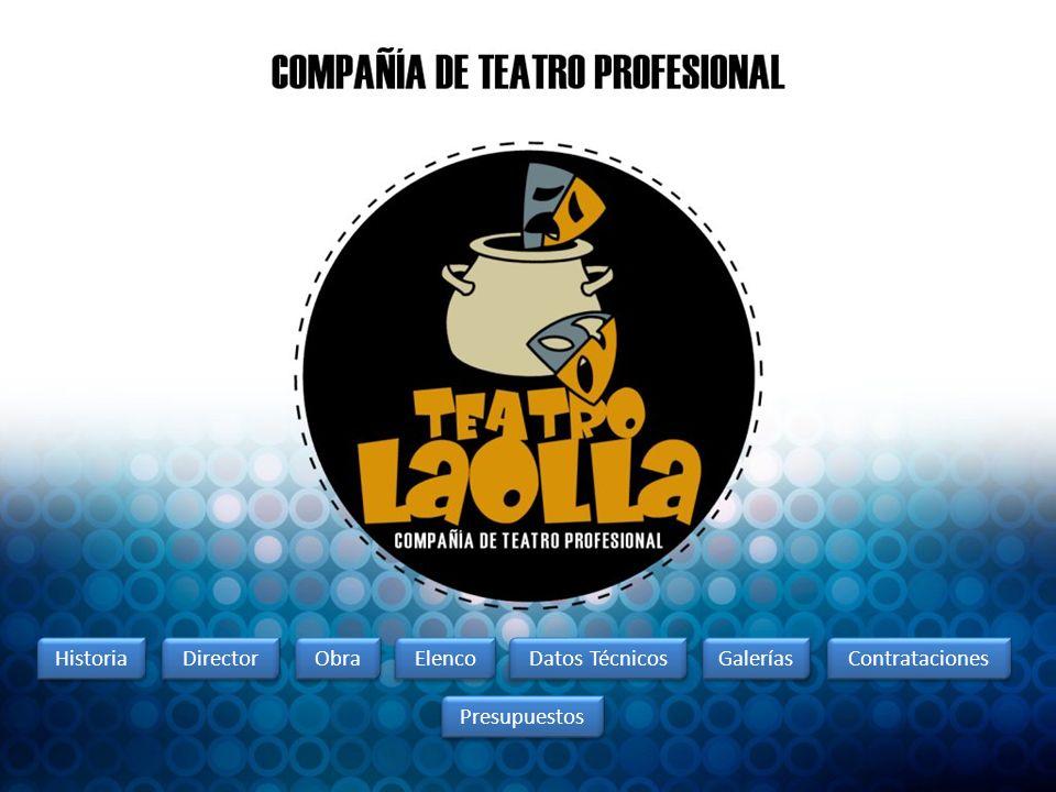 COMPAÑÍA PROFESIONAL TEATRO LA OLLA TEATRO LA OLLA: Es una compañía de Teatro profesional integrada por seis actores de reconocida y destacada trayectoria en el medio teatral, docente, y gestión cultural en Chile.